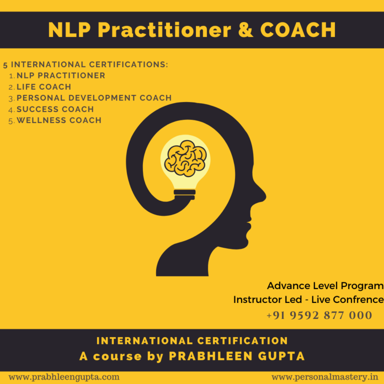 NLP Practitioner & Life Coach Certification Feb 2021 ...